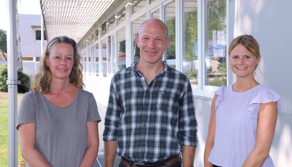 v.l.n.r: Martina Küper, Christopher Scholz, Annik Burger